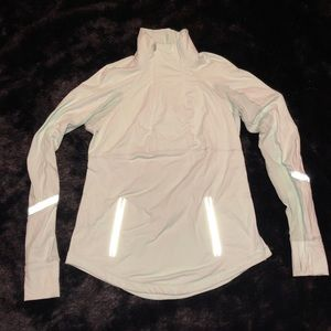 Lululemon Mint Green Quarter Zip Pullover